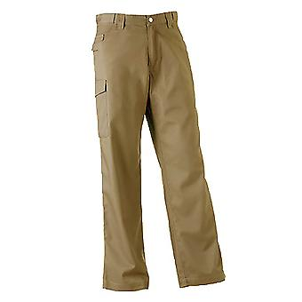 Russell Workwear Mens Polycotton Twill Trouser / Pants (Regular)