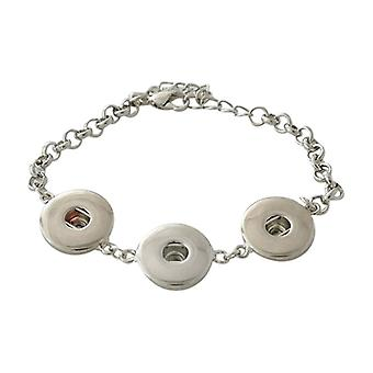 Stainless Steel Bracelet For Click Buttons Kb3313
