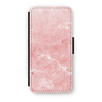 Samsung Galaxy S7 Flip Case - Pink Marble