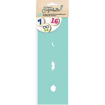 Sweet Sugarbelle Decorating Stencil 6/Pkg-Expressions & Numbers SB374077