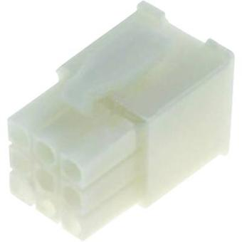 Pin enclosure - cable Universal-MATE-N-LOK Total number of pins 12 TE Connectivity 172170-1 Contact spacing: 4.20 mm 1 p