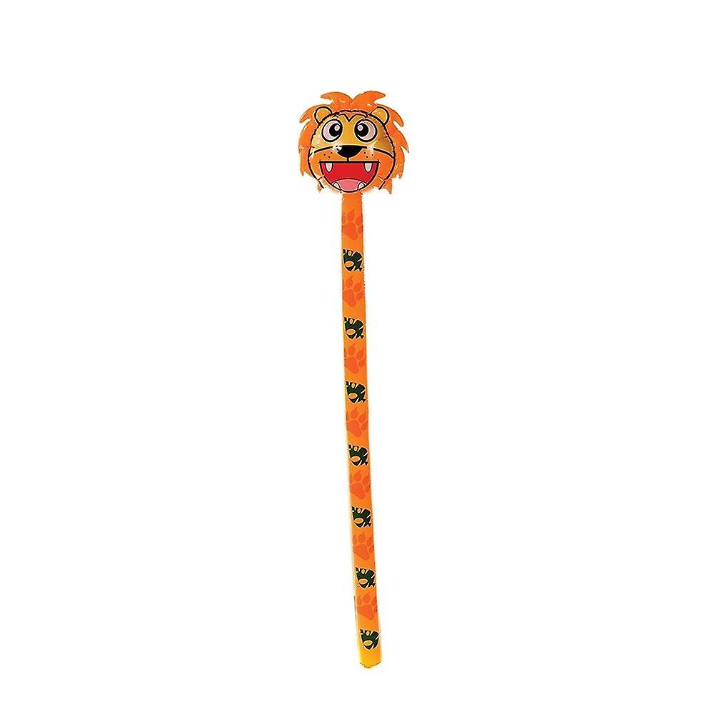 Inflatable lion toy
