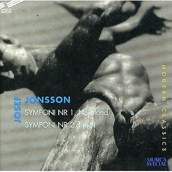 Josef Jonsson - Josef Jonsson: Symfoni Nr. 1 Nordland; Symfoni Nr. 2 D-Moll [CD] USA import