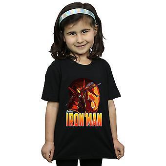Avengers dziewczyny Infinity wojny Iron Man charakter T-Shirt