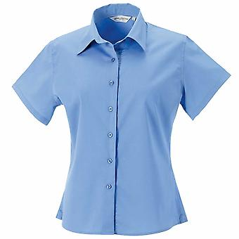 Russell Womens Short Sleeve Classic Twill Shirt