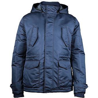 Caterpillar Mens Utica Water Resistant Hooded Casual Jacket Coat