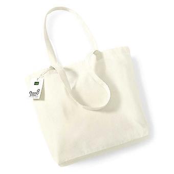Westford Mill Unisex Adults Organic Cotton Shopper Bag One Size