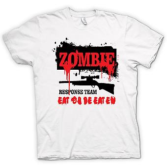 Womens T-shirt - Zombie Response Team - Funny