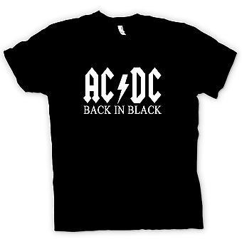 Kids t-skjorte-AC/DC tilbake i svart - Rock