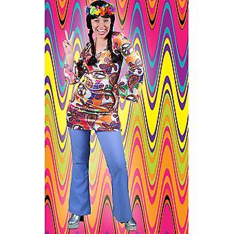 Costumes hommes pantalon disco de femmes Hippie violet