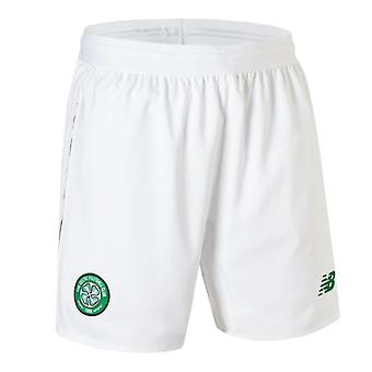 2018-2019 Celtic Home Shorts (White)