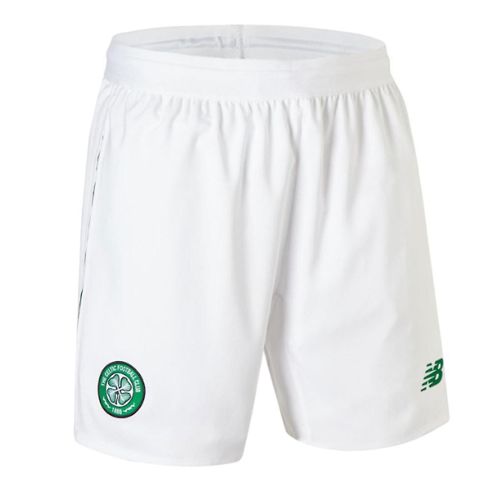 2018-2019 Celtic Home Shorts (White)