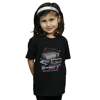 Vincent Trinidad Mädchen 8-Bit Retro-Gaming-t-shirt