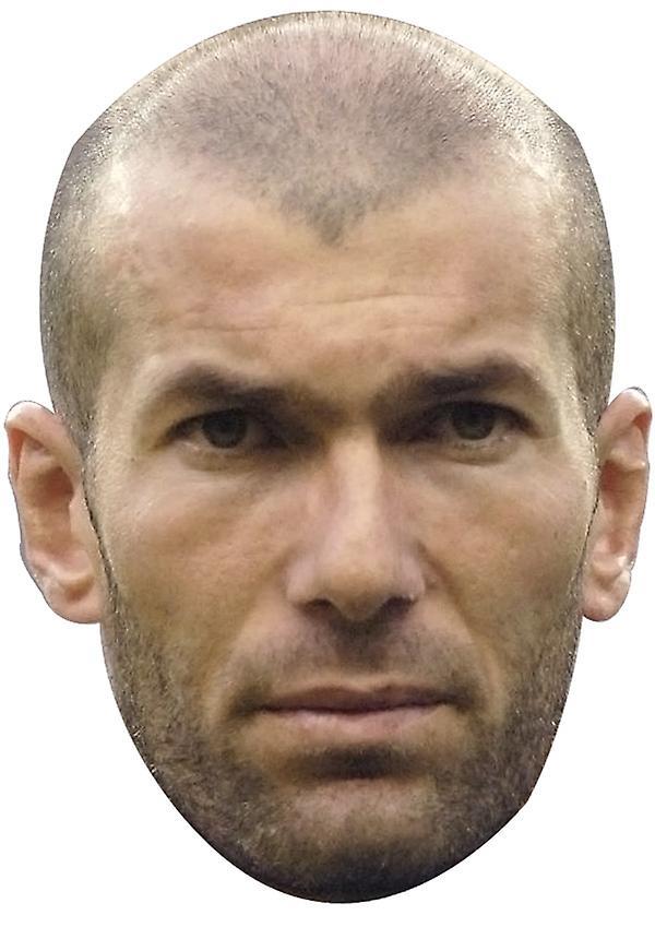 Zinedine Zidane maske