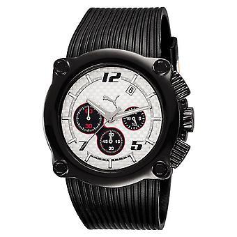 PUMA reloj pulsera reloj Chrono rotor de silicona unisex blanco PU101551001