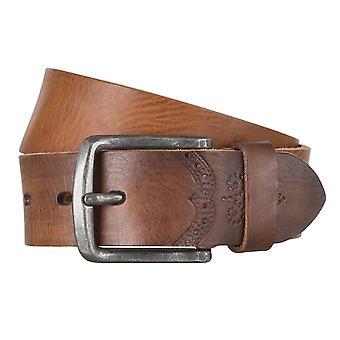 LLOYD Men's belt belts men's belts leather belt cowhide brandy 4317