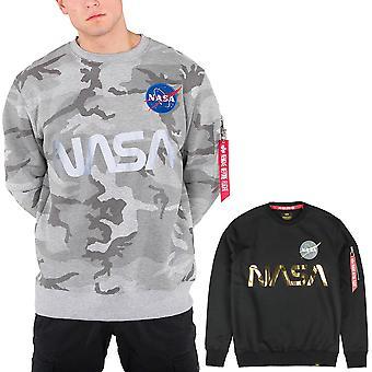 Alpha industries tröja NASA reflekterande