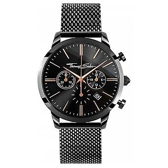 Thomas Sabo Mens Rebel Spirit Chrono | Stainless Steel Mesh Strap | WA0247-202-203-42