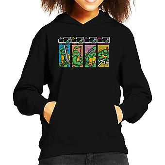 Teenage Mutant Ninja Turtles Arcade Hooded Sweatshirt gioco capretto