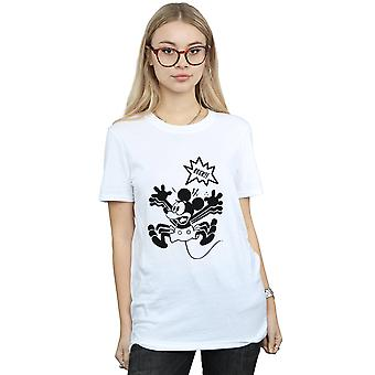 Disney kvinders Mickey Mouse EEEEEK! Kæreste Fit T-Shirt