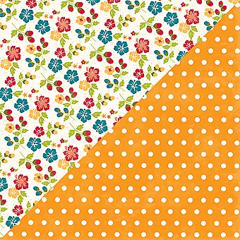 Bohemian Brew Double-Sided Cardstock 12