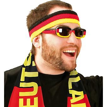 Glasses fan soccer World Cup Germany Germany prank accessory