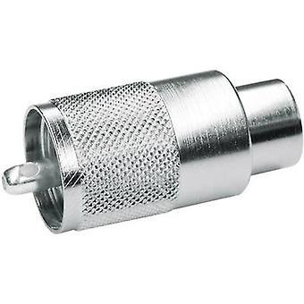 UHF connector Plug, straight 50 Ω Telegärtner J01040B0604 1 pc(s)