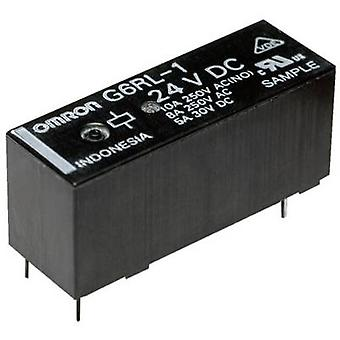 Omron G6RL-14-ASI 12 VDC PCB relay 12 Vdc 10 A 1 change-over 1 pc(s)