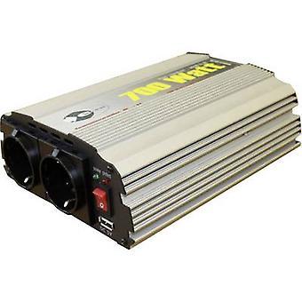 ﻫ-ast CL700-د-12 العاكس 700 W 12 فولت تيار مستمر-230 V AC، 5 فولت تيار مستمر