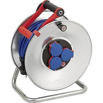 Brennenstuhl 1199830 kabel haspel 50 m blauw PG plug