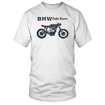 BMW Cafe racer klassieke motorfiets motor Biker Mens T Shirt