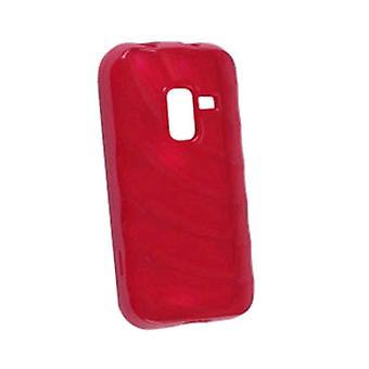 Ventev krusninger Dura-Gel tilfældet for Samsung SPH-D600 (rød)
