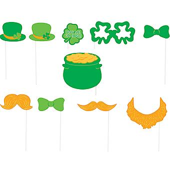 SALE - 10 Small Photo Booth Props for St Patricks Day Parties & Events
