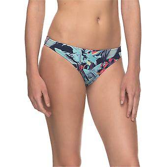Roxy Dress Blues Fantastic Garden PRT Essentials - Surfer Womens Bikini Bottom