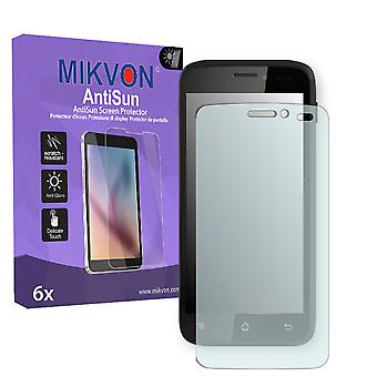 Archos 45b Platinum Screen Protector - Mikvon AntiSun (Retail Package with accessories)