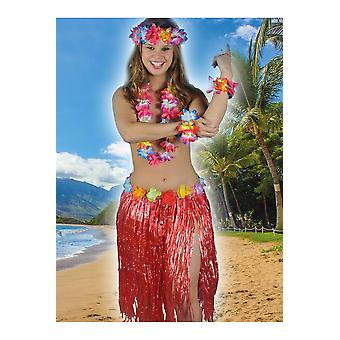 Hawai et tropical Hawaii femmes jupe rouge