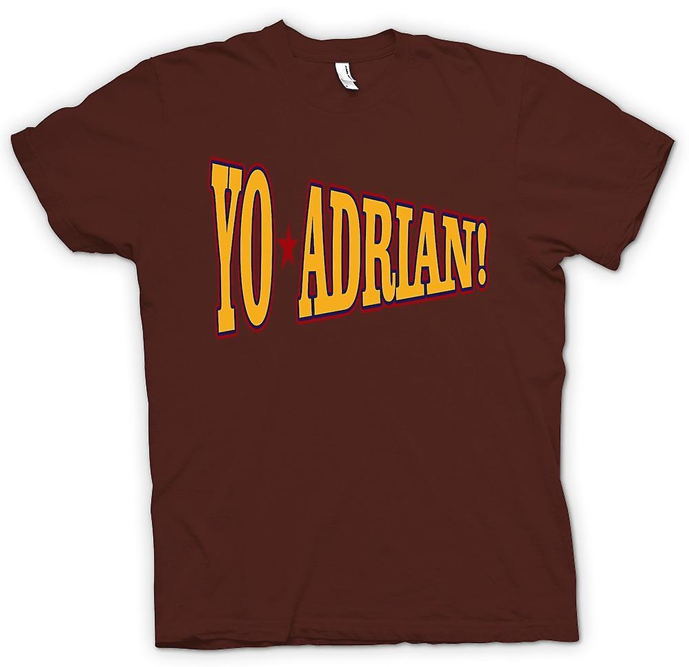 Hombres camiseta-Rocky Balboa Yo Adrian - gracioso
