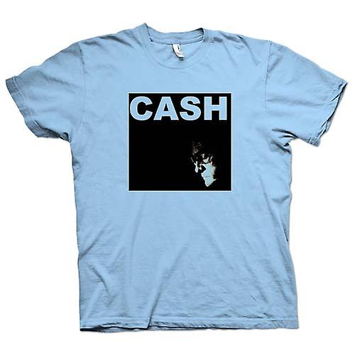 Mens T-shirt -  Johnny Cash - Hurt - Man In Black