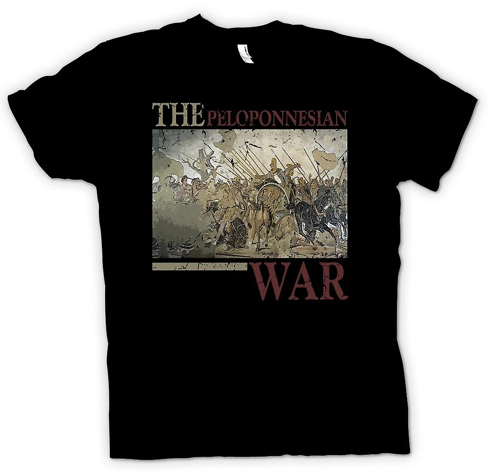 Kids T-shirt - The Peloponnesian War - Sparta Inspired