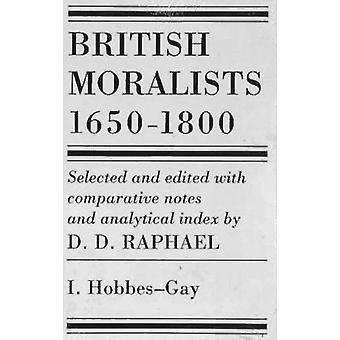 Moralistas británicos - 1650-1800 (2ª edición revisada) de D. D. Rafael