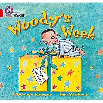 Settimana di Woody: Band 02b/rosse B (Collins Big Cat)