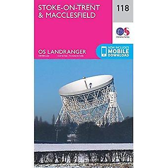 Landranger (118) Stoke-on-Trent & Macclesfield (OS Landranger Map)