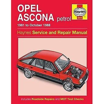 Opel Ascona Service and Repair Manual (Haynes Service and Repair Manuals)