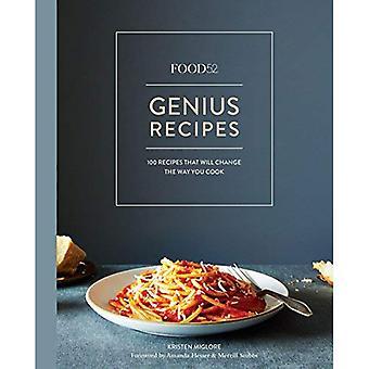 Recettes de Food52 de génie: 100 recettes ce changement sera la manière dont vous cuisinez (œuvres Food52)