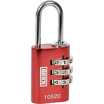 Kasp K10520REDD Padlock 20 mm Red Combination