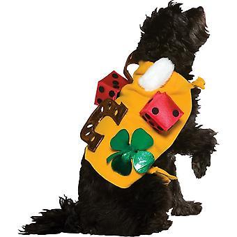Счастливая собака костюм для Meduim собак