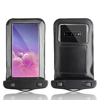 InventCase vattentät dammtät väska skyddande fallet täcker för Samsung Galaxy S10e / S10 / S10 + 2019 - svart
