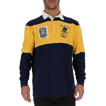 Ralph Lauren Blue Cotton Polo Shirt