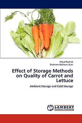Effect of Storage Methods on Quality of Carrouge and Lettuce by Rashidi Majid
