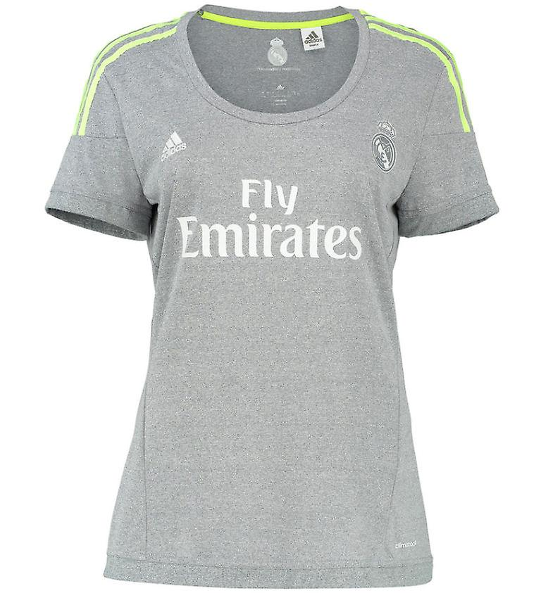 2015-2016 Real Madrid Adidas Womens Away Shirt